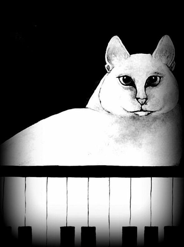 Musicat Carla Raadsveld, cat paintings
