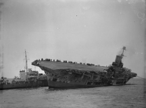 HMS Ark Royal Sinking, cats in war, wartime cats, unsinkable Sam, ships cats