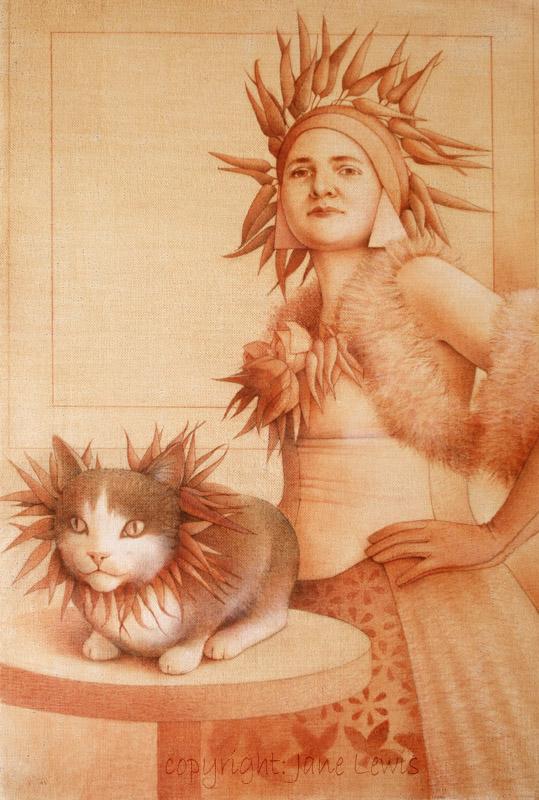 Jane Lewis, Madam Chilli, women and cats