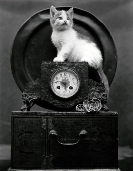 EDWARD WESTON Mary (on Clock), 1945