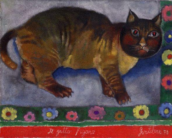 Gentilini The Cat Figaro 1978