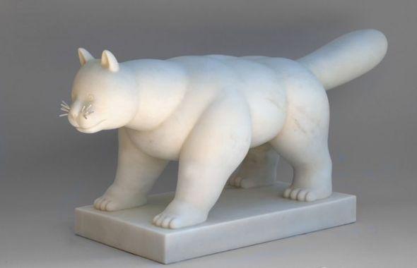 Fernando Botero, Cat, 2010