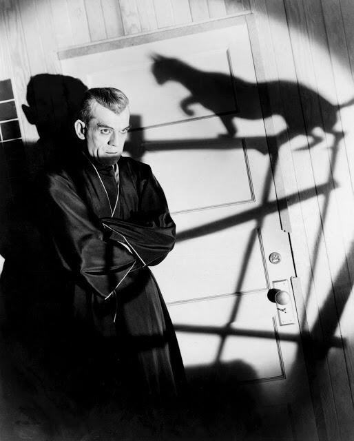 Boris Karloff and cat Henri Cartier-Bresson