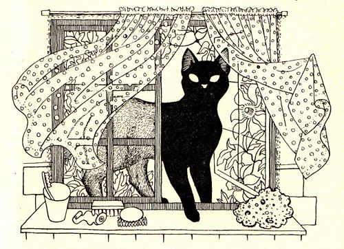 From 'God and the Little Cat' by Selwyn Jepson Illustration by Eileen Mayo