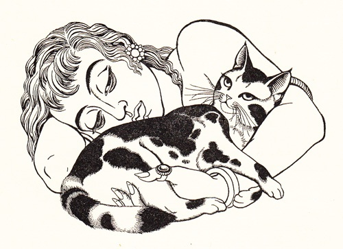 llustration by Eileen Mayo from 'The Travellers from West and East' by Sylvia Townsend Warner