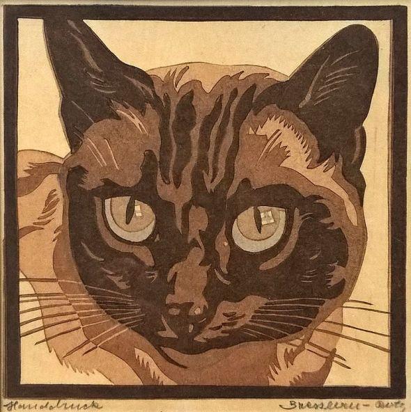 Siamese Cat 1946, Norbertine Bresslern-Roth
