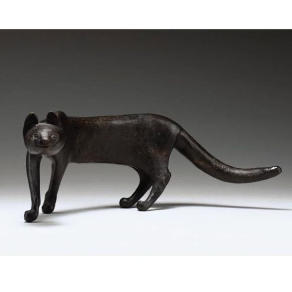 Gerhard Marcks, LAUFENDE KATZE (RUNNING CAT), Made of bronze,