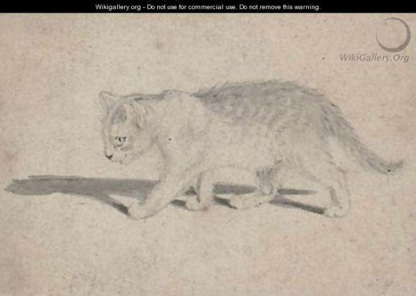 Gottfried Mind, cat sketch