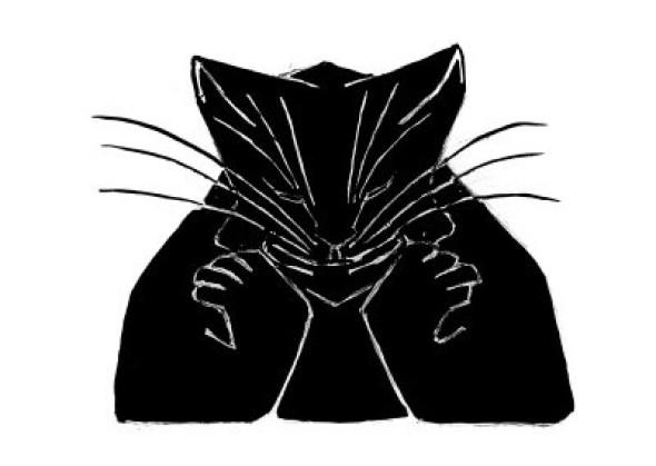 Sketchbook Cat II, Escher, cats in art