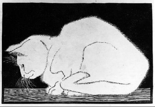White Cat MC Escher