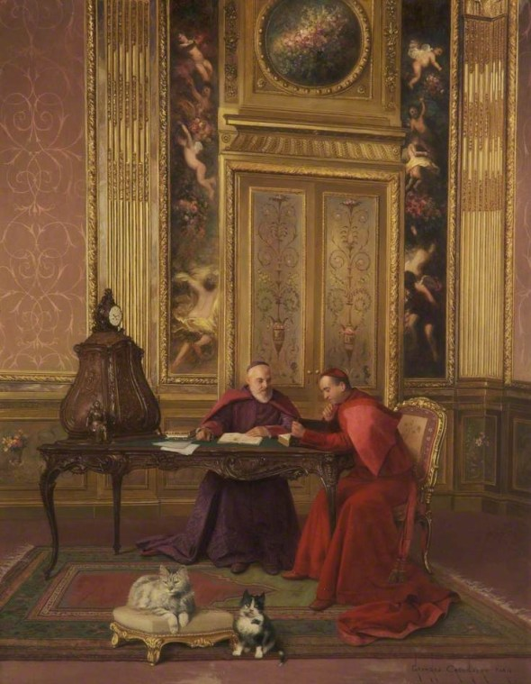 Cardinals at Leisure, G. Croegaert