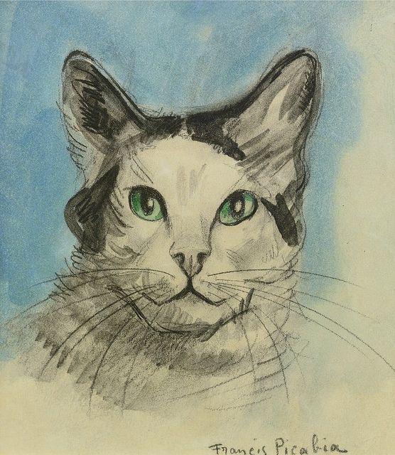 Tête de Chat, Vers 1923-28, Francis Picabia (1879-1953)