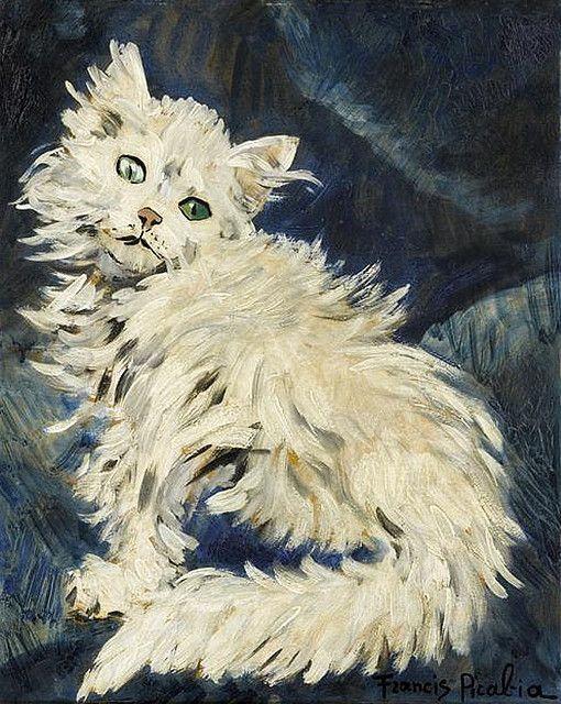 Picabia, White Cat 1953