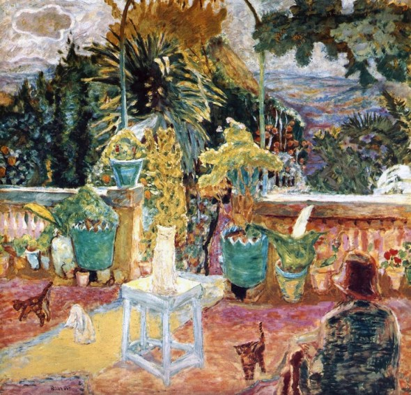 Pierre Bonnard (Francia, 1867-1947). La terrasse de Grasse, 1912