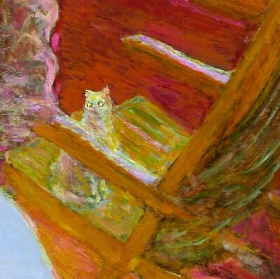 Pierre Bonnard (Francia, 1867-1947). The Dining Room, detail