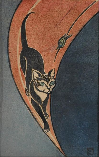 Marguerite Mahood, cat