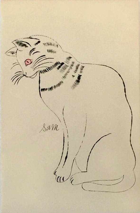 Andy Warhol, Sam sketch