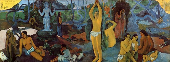 Where do We Come From? What Are We Doing? Where are We Going? 1897 Paul Gauguin