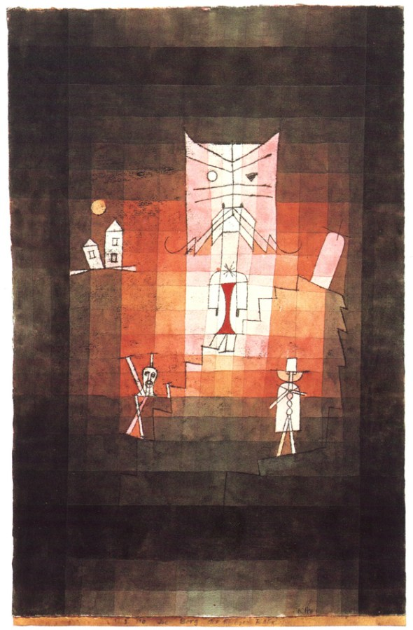 The Mountain of the Sacred Cat, Paul Klee