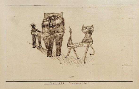 Tierfreundschaft, Paul Klee