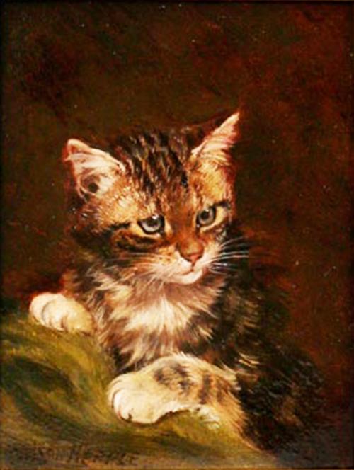 Kitten, Wilson Hepple, private collection