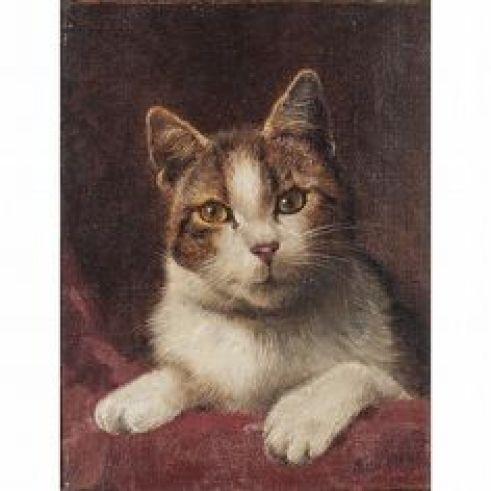Portrait of Cat, Wilson Hepple