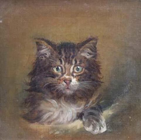 Portrait of a Cat, Wilson Hepple