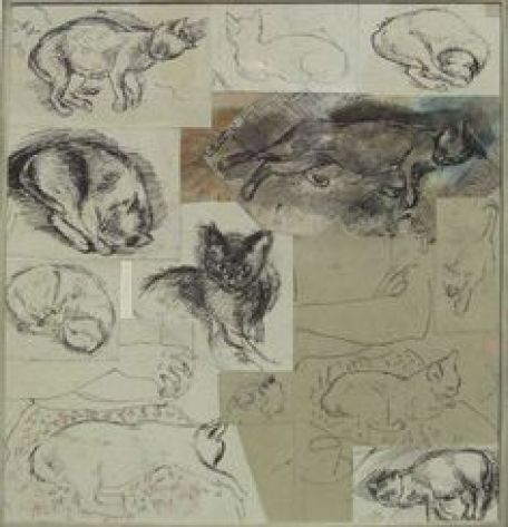 Ruskin Spear, Cats