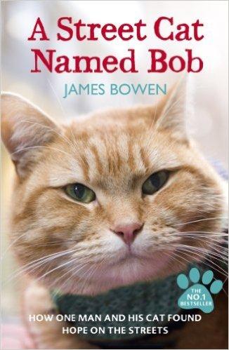 A Street Cat Named Bob, James Bowen, true stories about cats