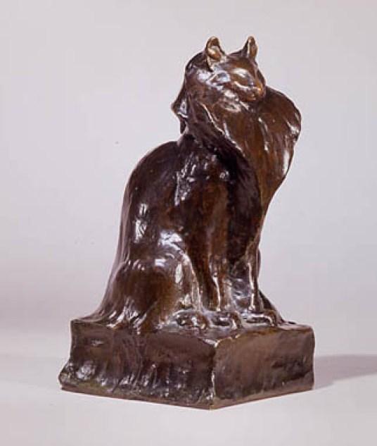 Angora Cat Statue2, Theophile Steinlen