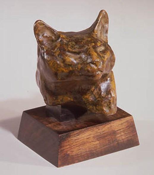 Cat Head Statue, Theophile Steinlen