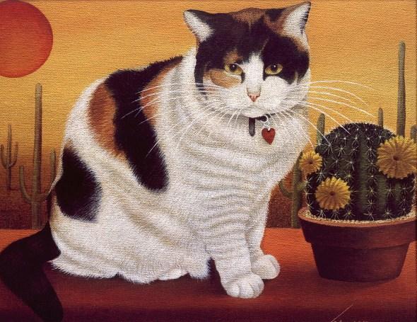 Lowell Herrero, Calico Cat