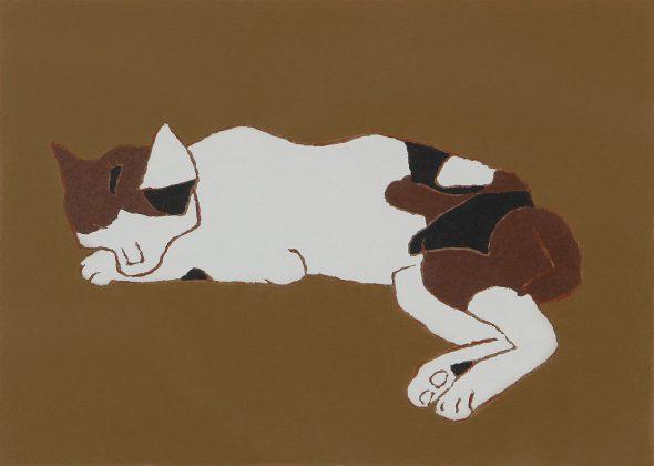 Morikazu Kumagai, Cat Sleeping