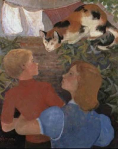 Orovida Camille Pissarro, The Marmelade Cat