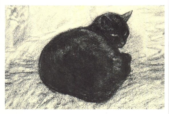 Black Cat Théophile-Alexandre Steinlen