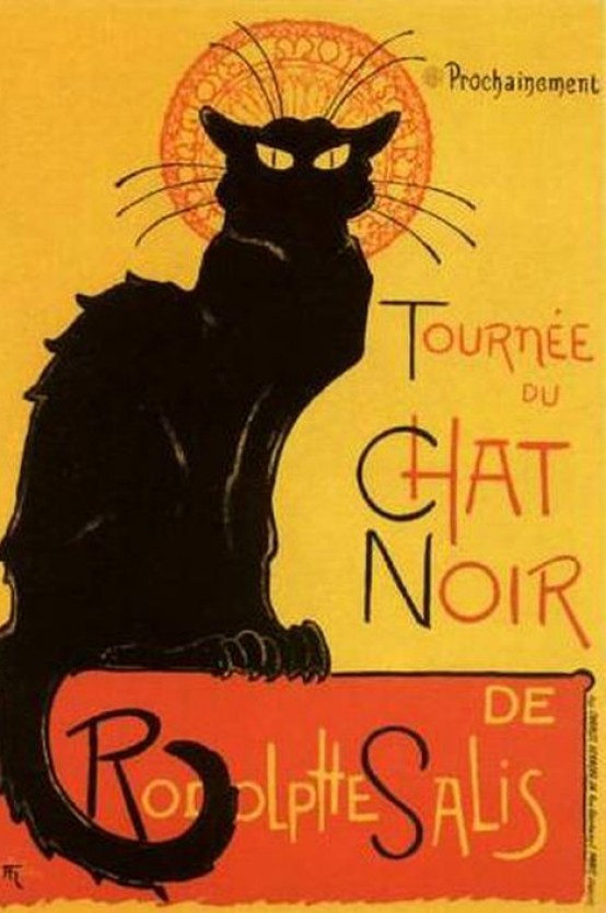 Theophile Steinlen, Chat Noir Poster