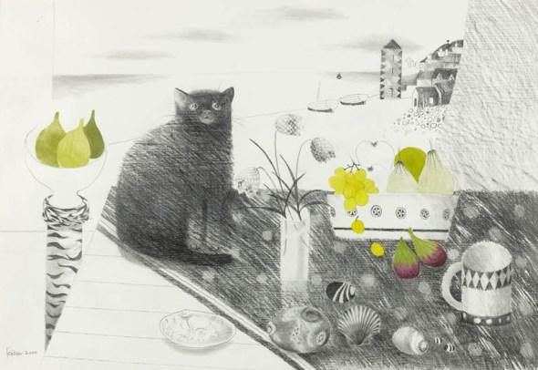 Black Cat, Mary Fedden