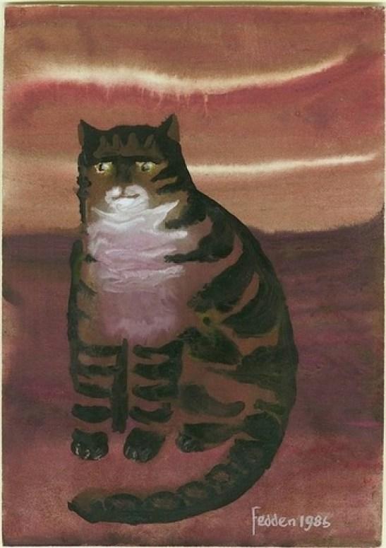 Brown Tabby Cat, Mary Fedden