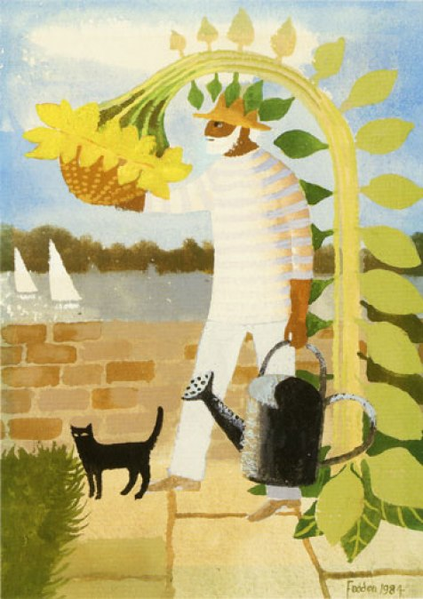 Julian and Sunflower, Mary Fedden