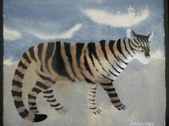 Tiger Cat, Mary Fedden