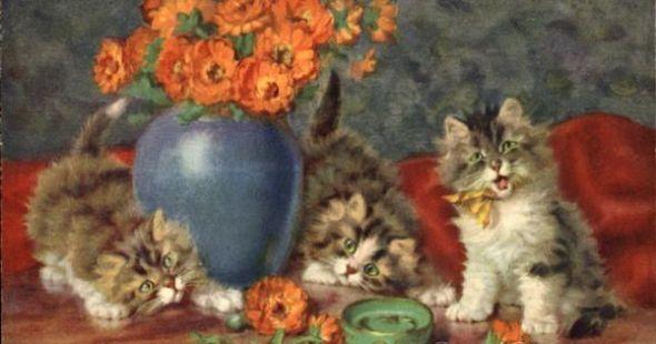 Sophie Sperlich, Three Kittens