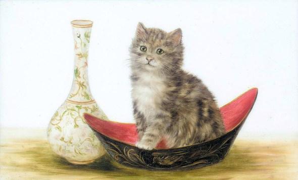 Tabby Kitten, Bessie Bamber