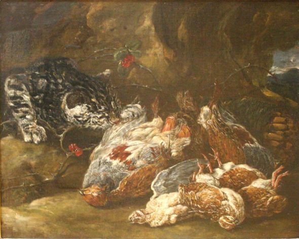 Jan Fyt, Cat Stealing Dead Birds