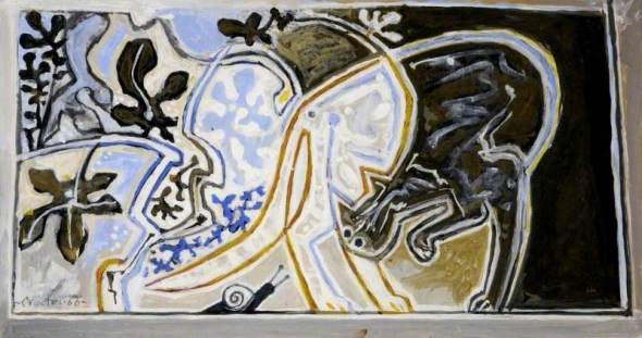 Cat and Snail, John Craxton