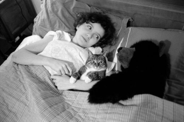 Jean Gaumy, 1990, Zoe the cat