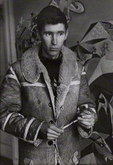 The Neo-Romantic artist, John Craxton, photographed by Felix Mann, 1948