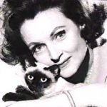 Betty White and cat, famous cat lovers
