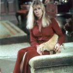 Elizabeth Montgomery and cat, famous cat lovers