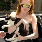 Evan Rachel Wood and Cat