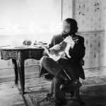 Stanley Kubrick and cat, famous cat lovers